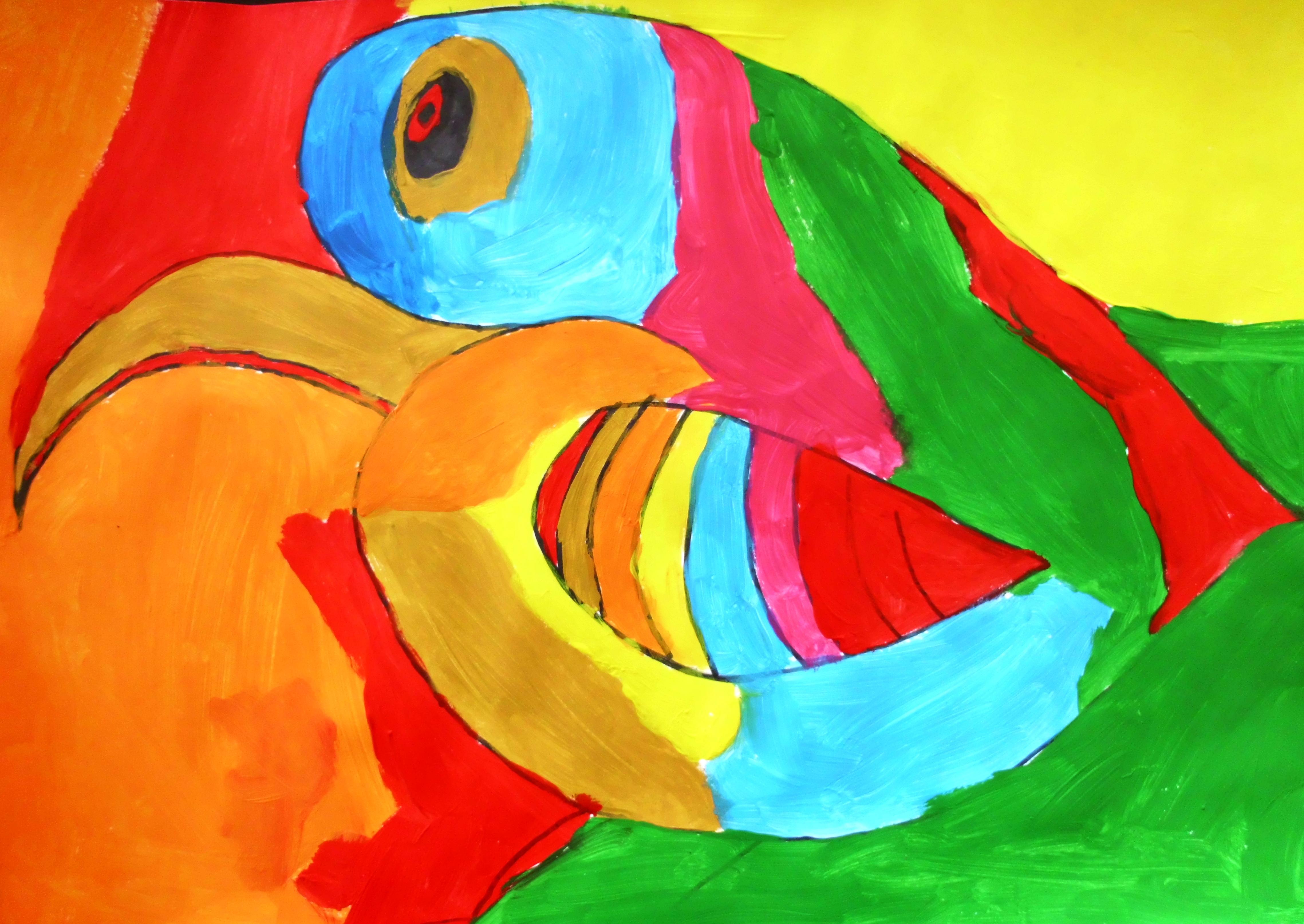 Begrippen beeldaspect kleur begrippen klas 2 beeldende vorming - Koude en warme kleur ...