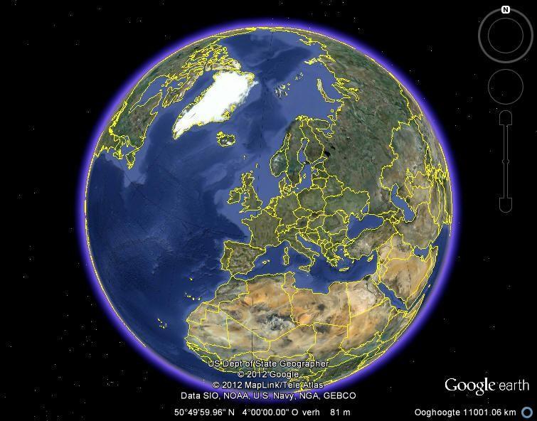 Google Earth: reis naar Pluto (en andere planeten) - Computertaal
